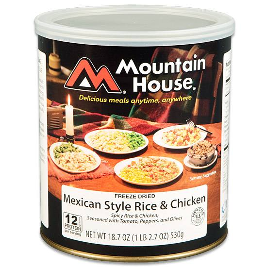 The key to Mountain House foods' high quality longevity is the specialized packaging.