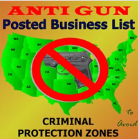 Posted! Carry List Anti-Gun