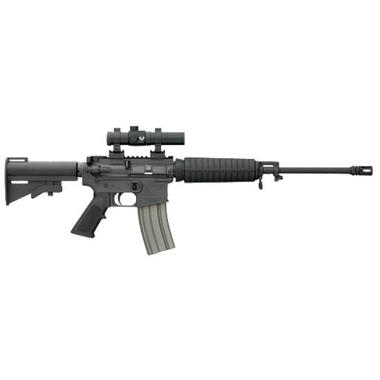 The real gem is the rifle's weight. At 5.5 pounds, I dare you try finding a much lighter AR.