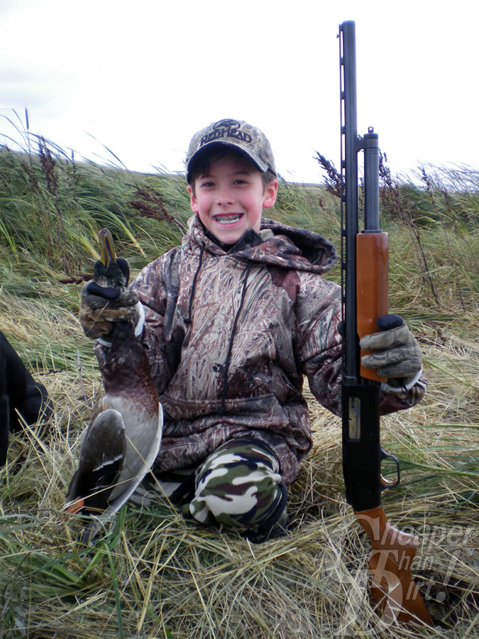 Young Duck Hunter