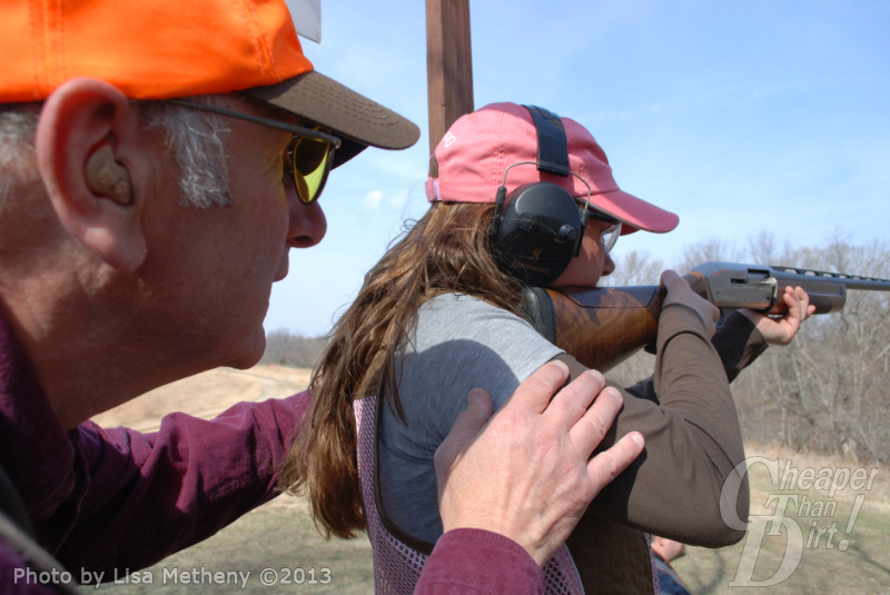 Becoming an Outdoor Woman with help from a local expert