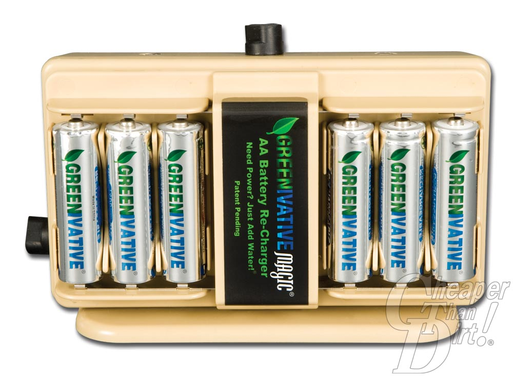 Picture shows the inside of the G-MAG salt water battery charger