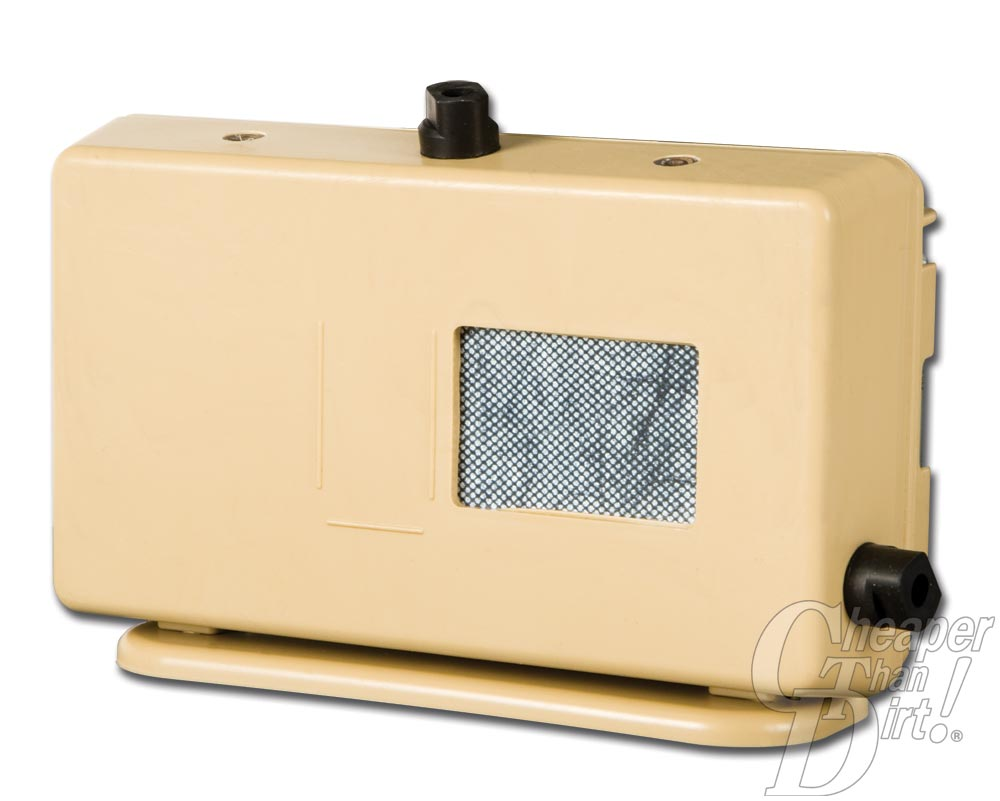 Picture shows the outside of the G-MAG salt water battery charger.