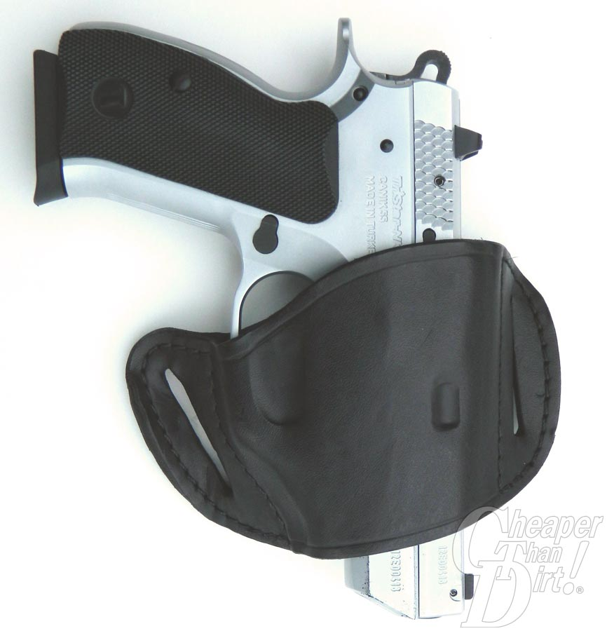 The Pro Tec slide belt for the Canik 55 pistol