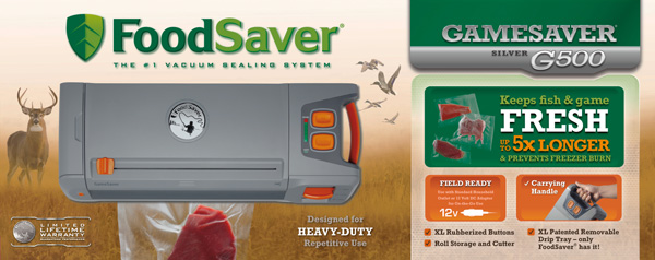 Shop for FoodSaver GameSaver Appliances and Supplies