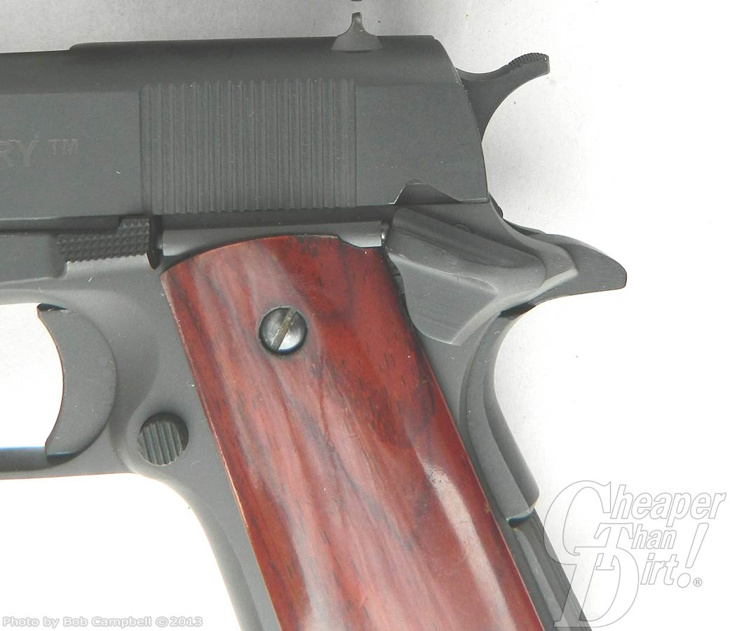 Rock Island Armory 1911 Beavertail Handgun Grip
