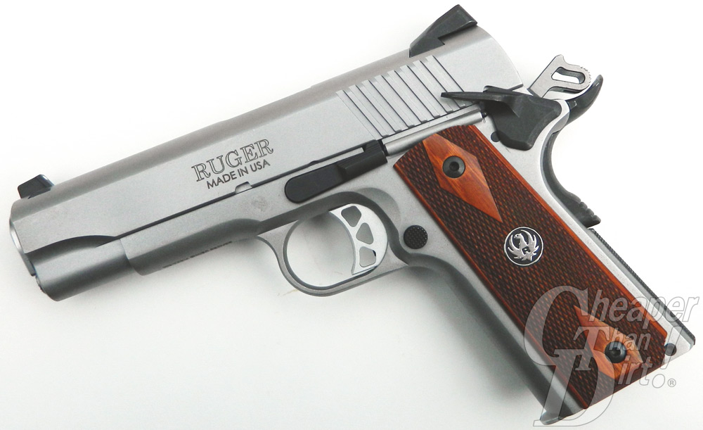 Rugers Sr1911 Cmd 45the Right Gun At The Right Time