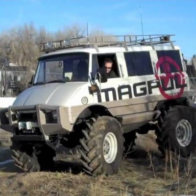 Magpul Unimog Bugging Out