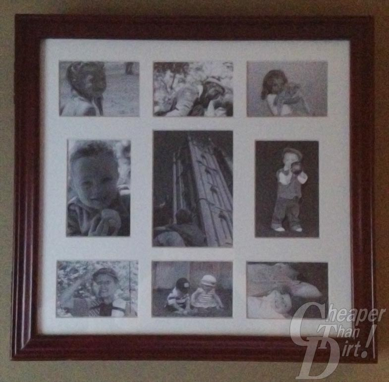 Picture shows a picture frame jewerly box.