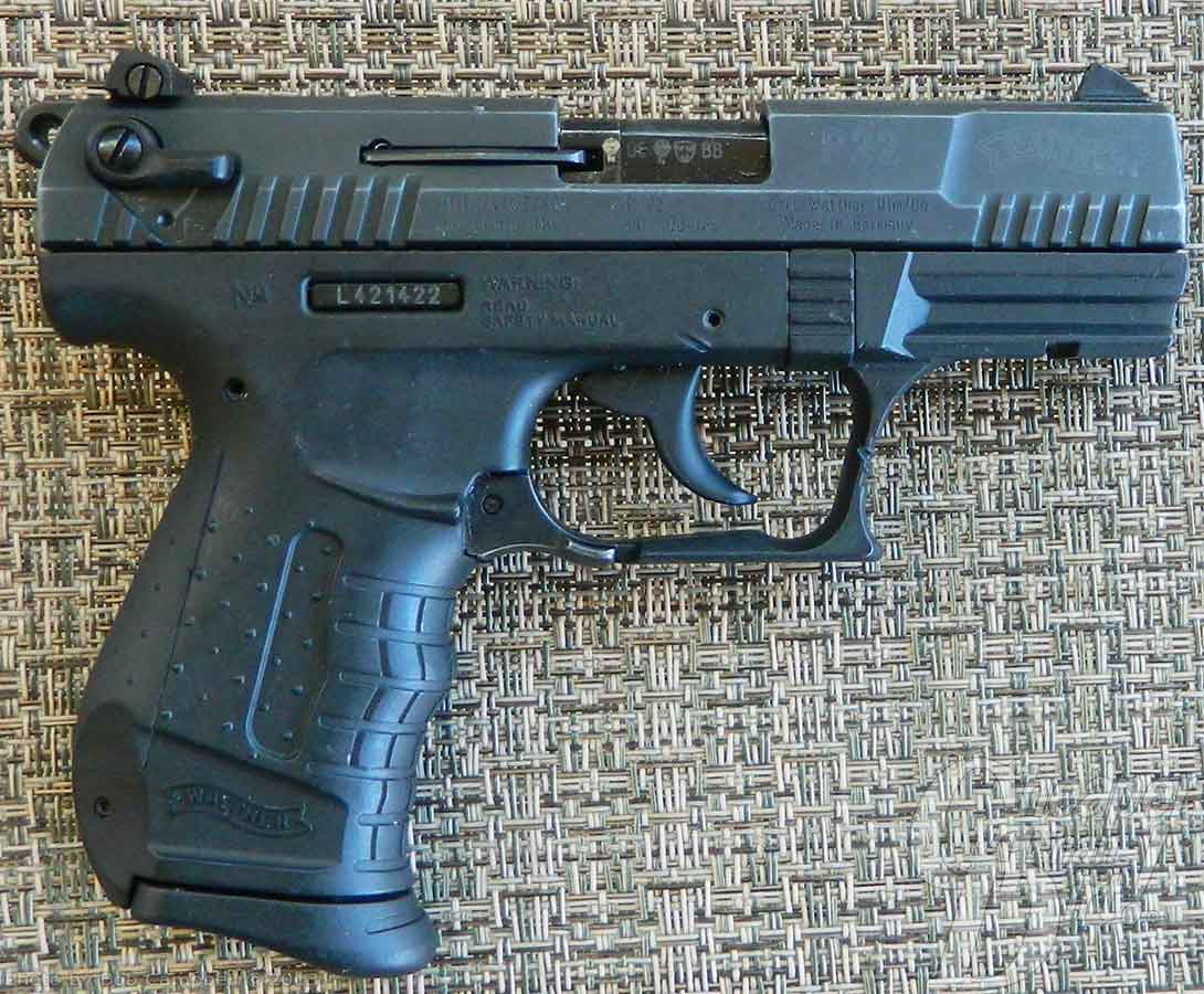 range report the walther p22