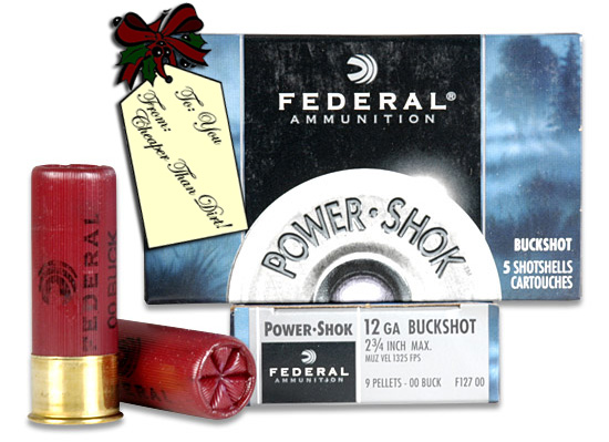 Federal Power-Shok 12 Gauge Buckshot