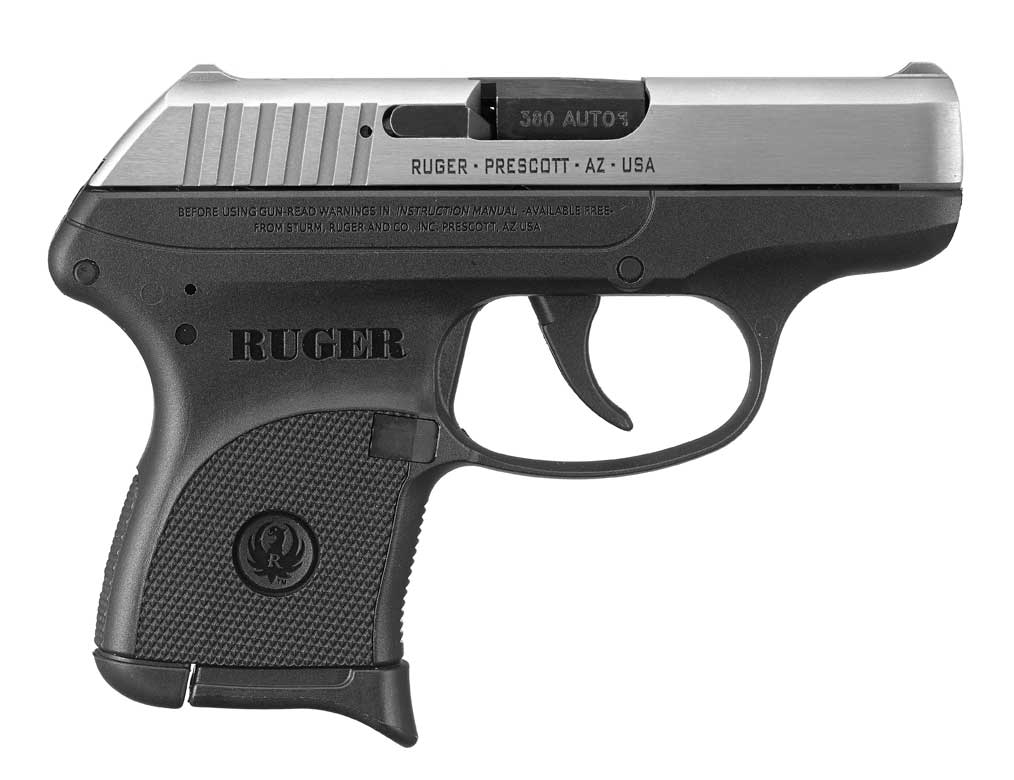 Ruger LCP with Stainless Steel Slide