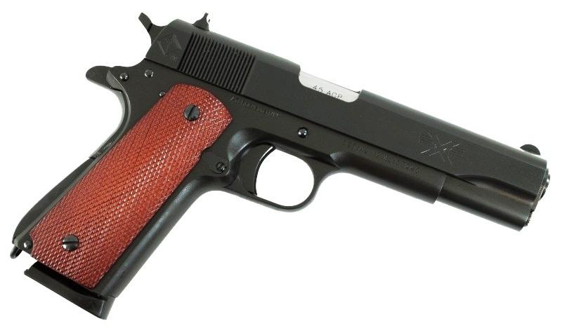 5-inch Barrel ATI Pistol with brown grip