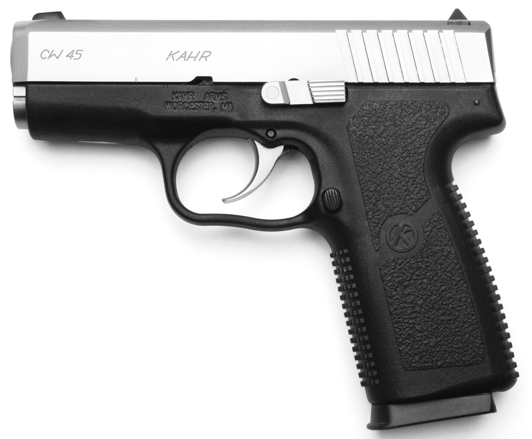 Kahr Arms CT4543 pistol with two tone finish