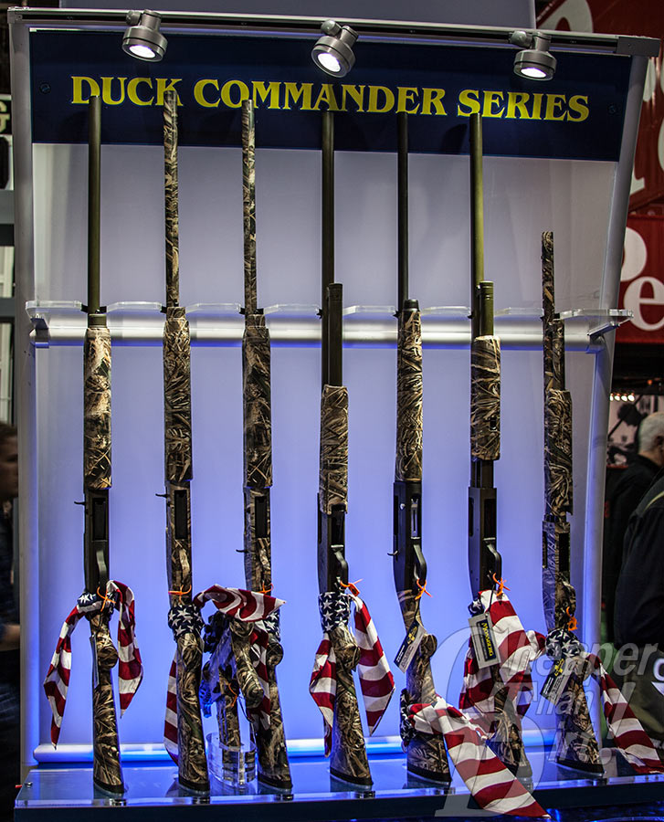 Mossberg Shotguns co-branded with Duck Commander