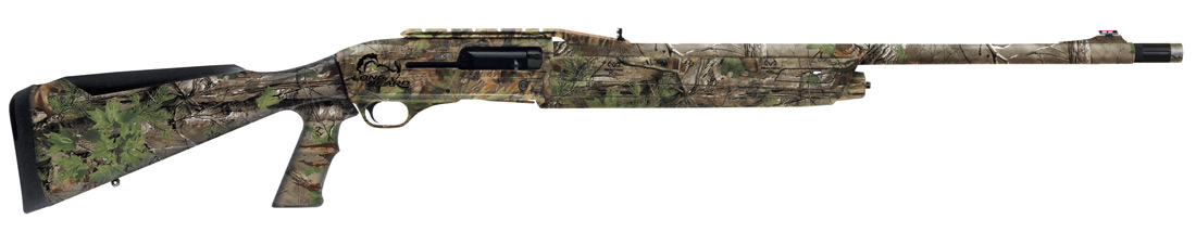 Winchester SX3 Long Beard shotgun with Realtree Xtra Green camo and truGlo front sight