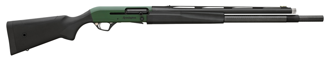 Remington Arms VersaMax Tactical 3 Gun with green Cerakote receiver