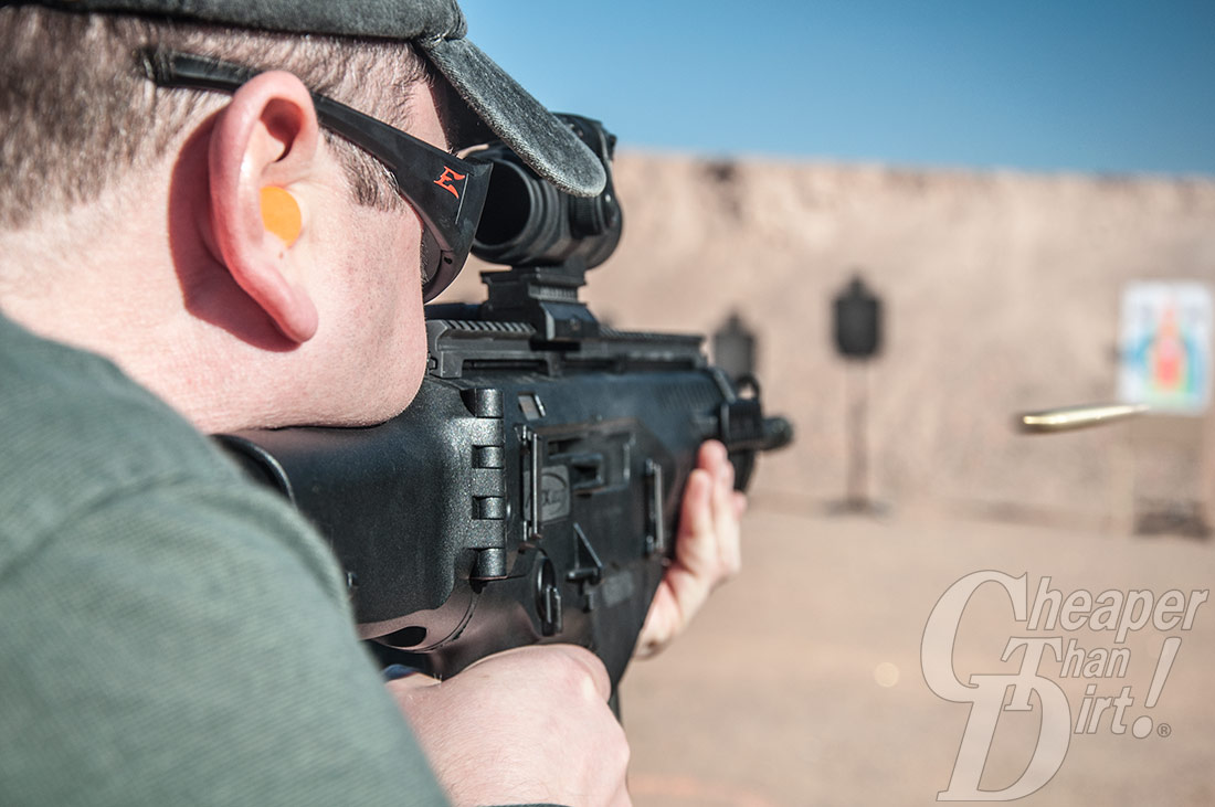 Shooting The ARX-100