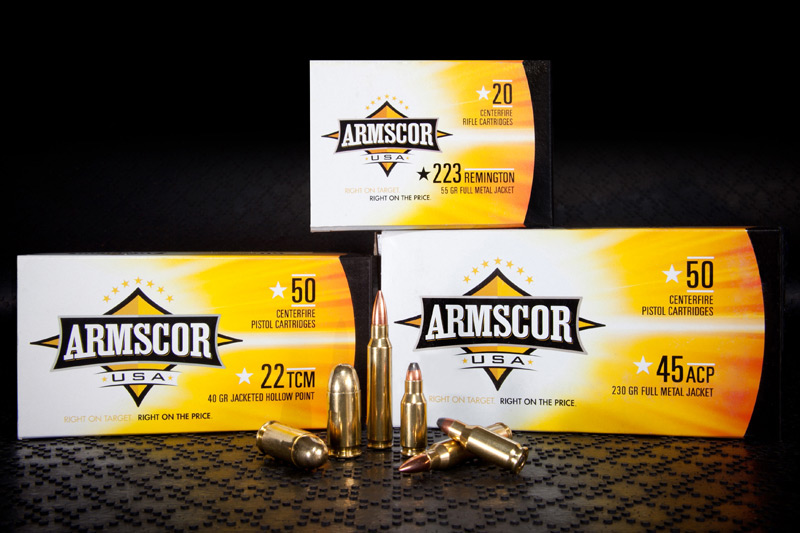Armscor ammunition in different calibers