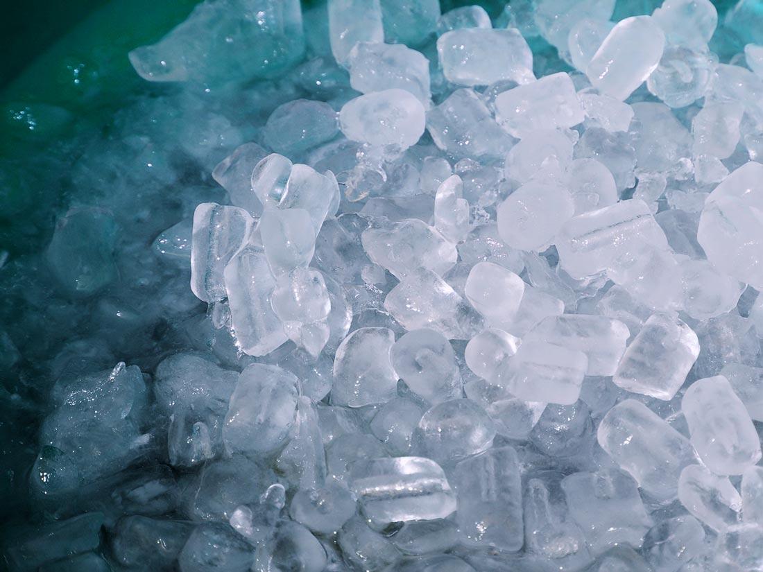 Hidden H2O: Ice Cubes