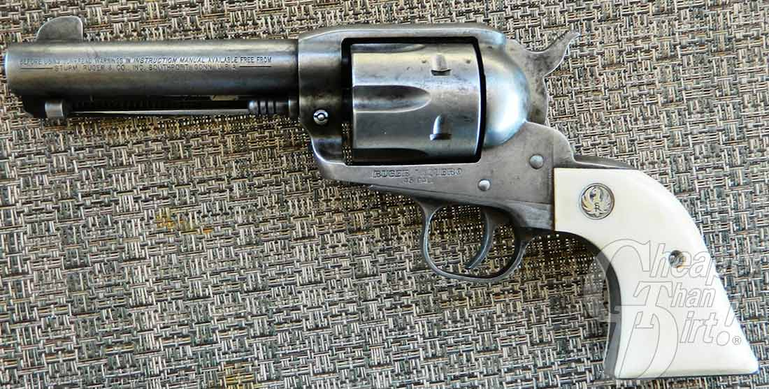 Ruger Vaquero: The Single Action Cowboy Gun