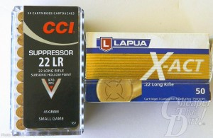 Box of CCI 22 LR ammo