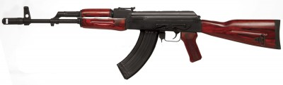 TimberSmith Red Laminate AK Rifle