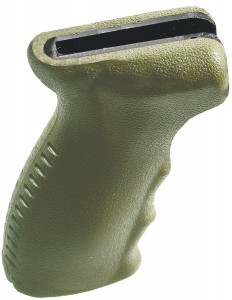 The UTG Model 47 Ergonomic Pistol Grip weighs just 5.4 ounces.