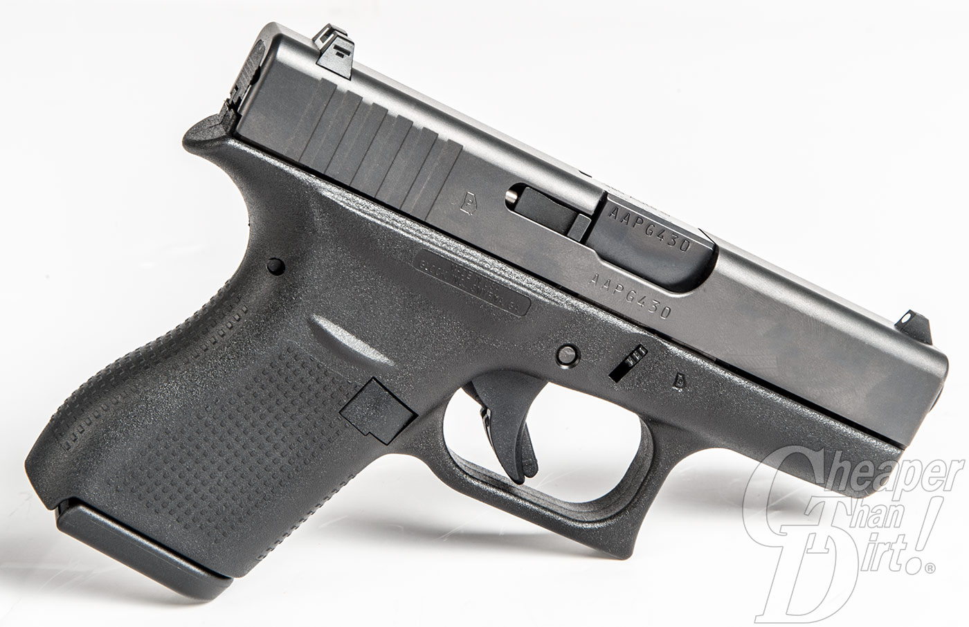 GLOCK 42 Right Profile