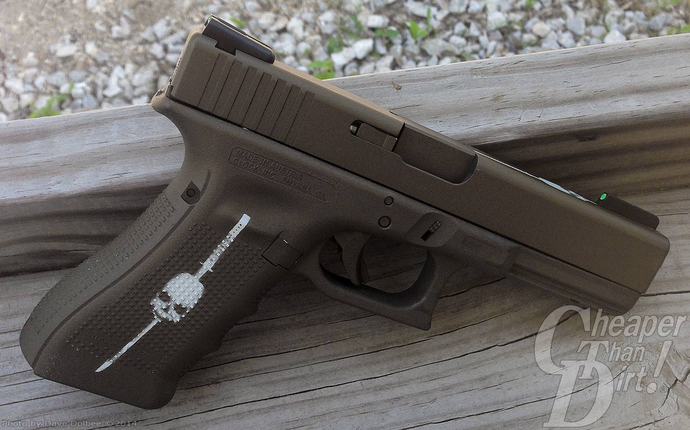 Glock 22— .40S&W, .357 SIG, 9mm —What else could you ask for?