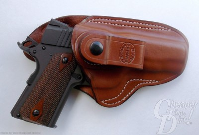 Brown handled Citadel in a medium brown DM Bullard IWB