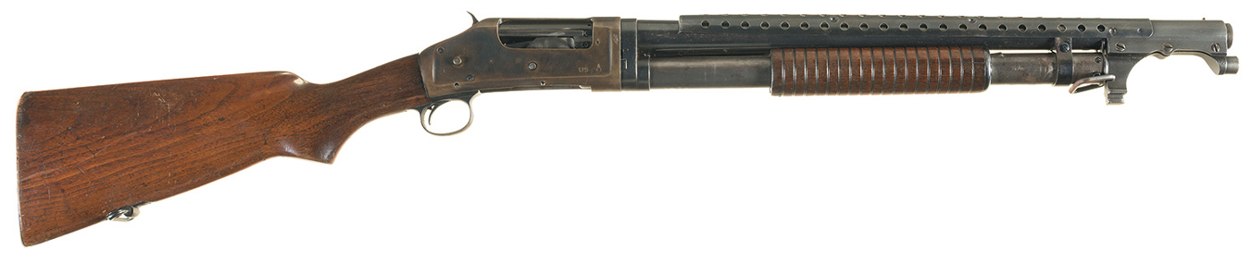 World War II Era Winchester Model 97 Trench Shotgun
