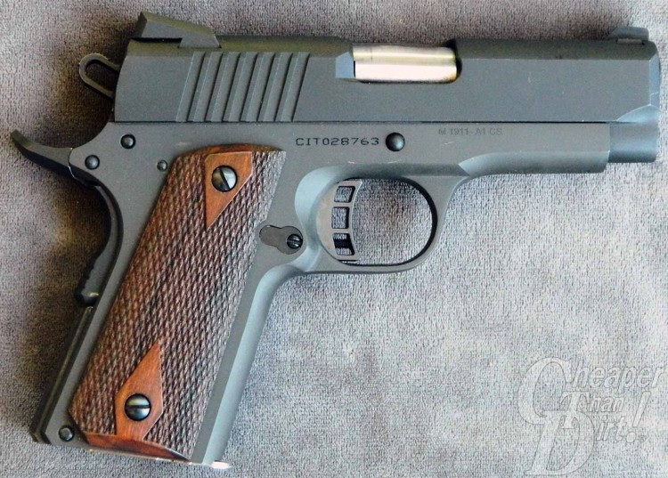 9mm 1911 — the best bet for an all-around defensive handgun.