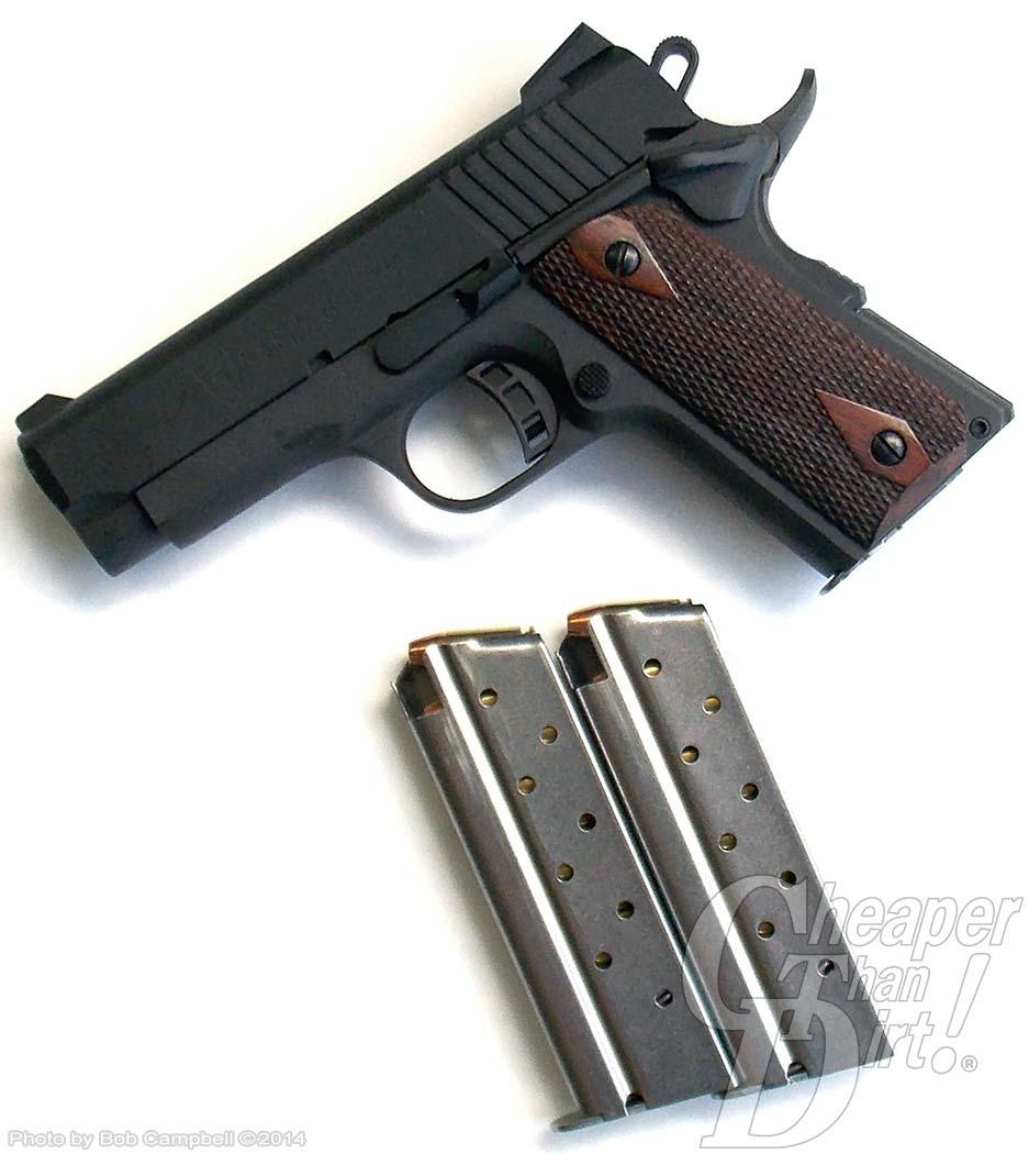 The 1911 Handgun in 9mm