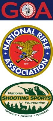GOA NRA NSSF Logos