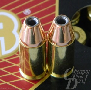 9mm 115-grain JHP ammo