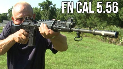 Jerry Miculek and the Rare Full-Auto FN CAL Assault Rifle