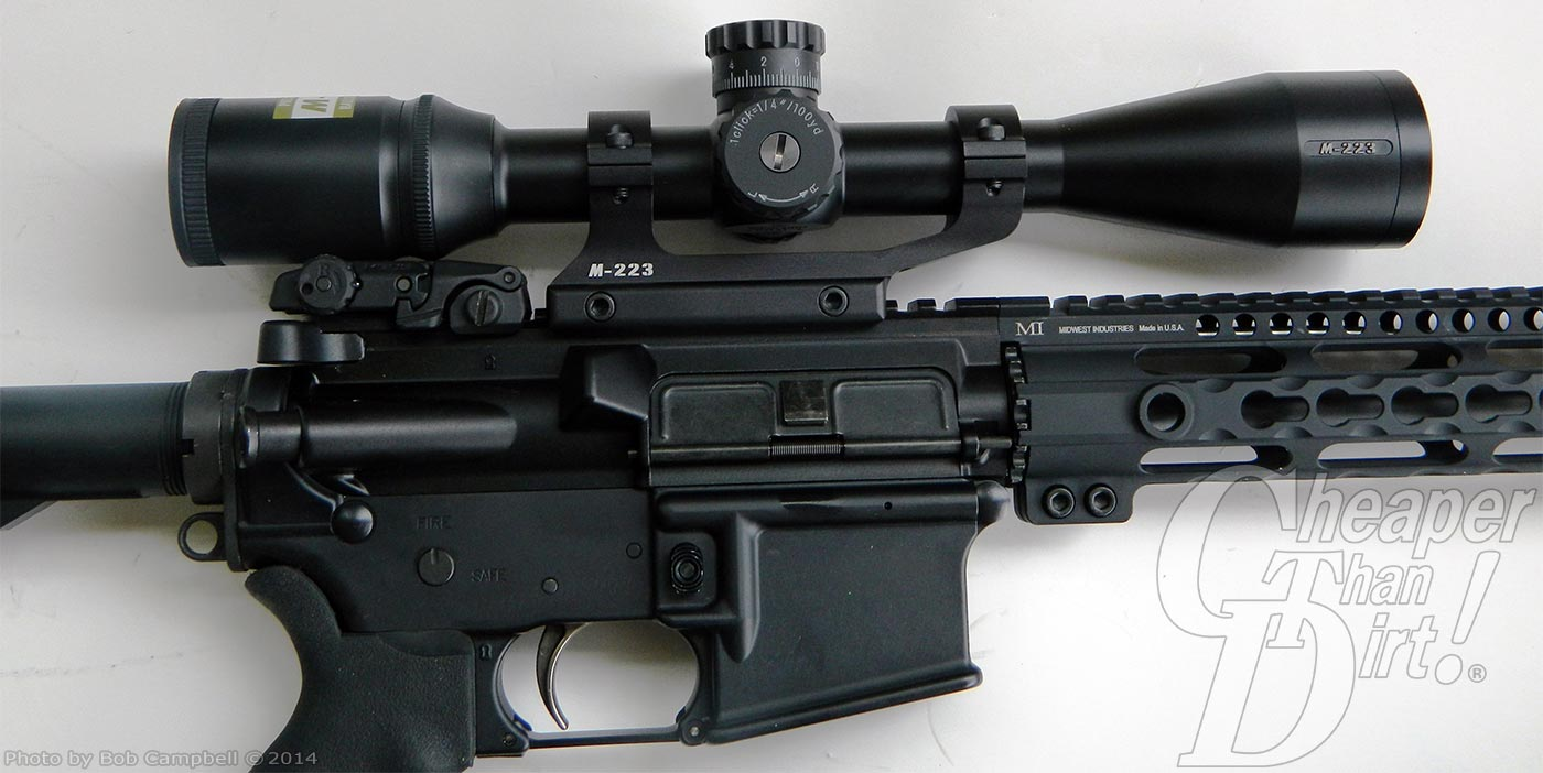 AR-15: Nikon M-223 Rifle Scope and More