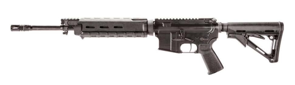 Pciture shows the entry level AR-15 by POF.