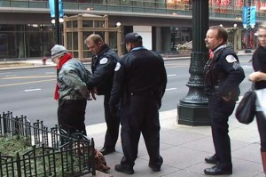 Police Making an Arrest