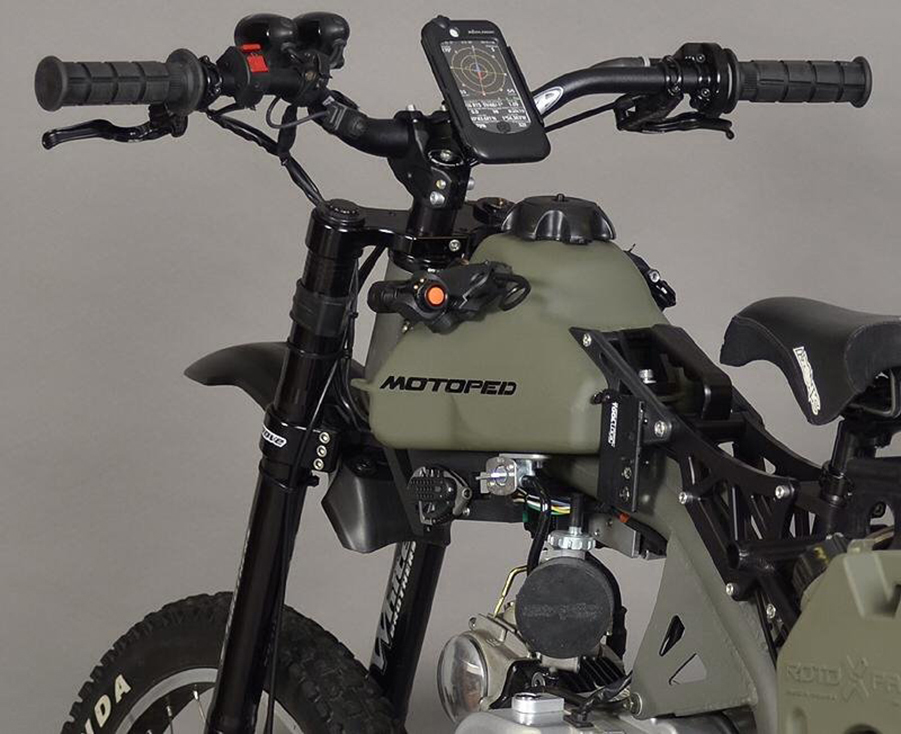 Motoped\'s Motorized Survival Bike—From Mild to Wild