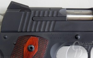 SIG Fastback with focus on external extractor