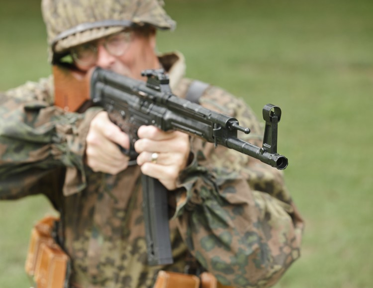 STG44 Rifle with Protected Front Sights