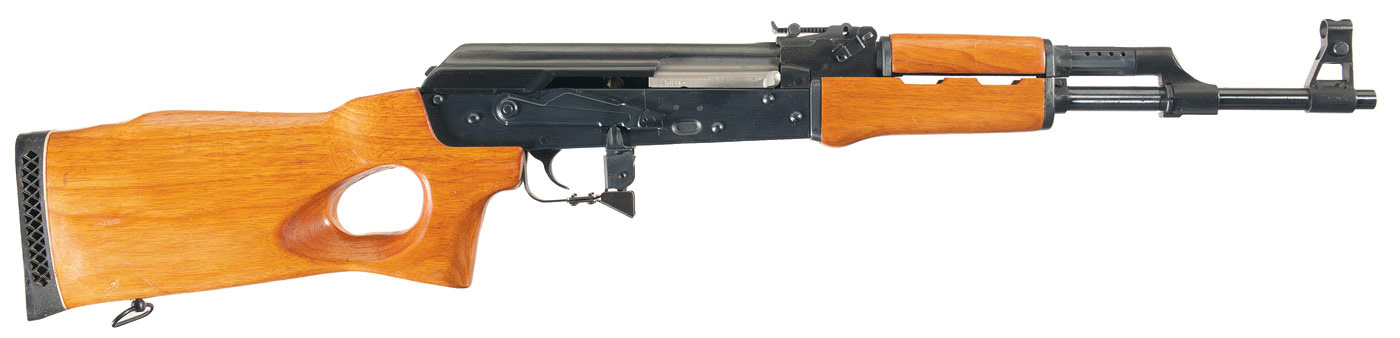 Converting your ak 47 to be 922r exempt picture shows a post ban ak 47 with a black receiver and wood fixed altavistaventures Image collections