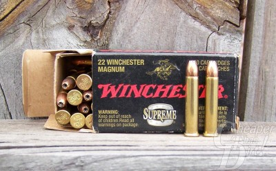 Box of Winchester's light JHP load in black box