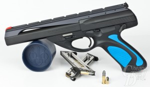 Beretta Neos with magazines and ammunition