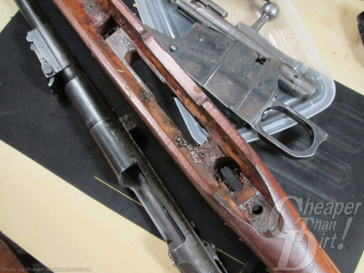 Chinese Type 53 Carbine Disassembled