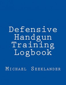 Mike Seeklander's Logbook with white type on a navy blue background