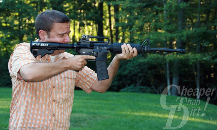 Stag Arms Model 1 AR-15 in Use
