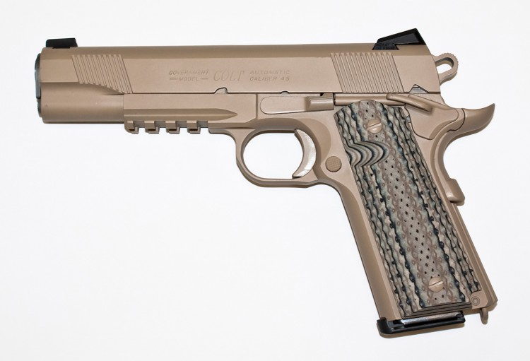 Colt M45A1 CQBP Profile with Muzzle Left
